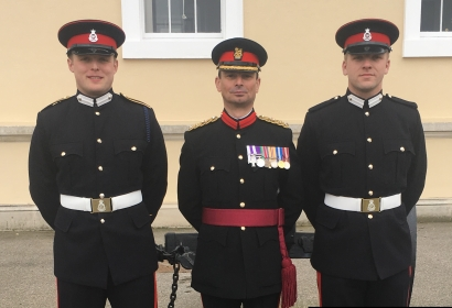 The Regiment welcomes two new Officers to the YORKS Regimental Family