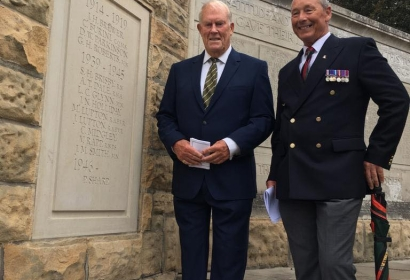 Regimental Plaque Unveiling
