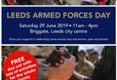 Leeds Armed Forces Day 2019