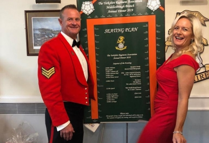 Middlesbrough Branch of The Yorkshire Regiment Association Charity Dinner