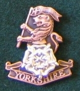 YORKS Soldiers Beret Badge