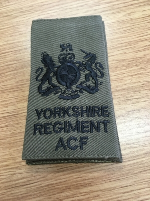 YORKS ACF WO1 Rank Slides