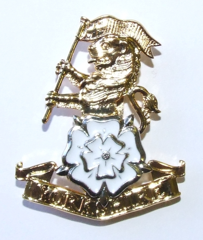 YORKS No1/No2 Dress Cap Badge