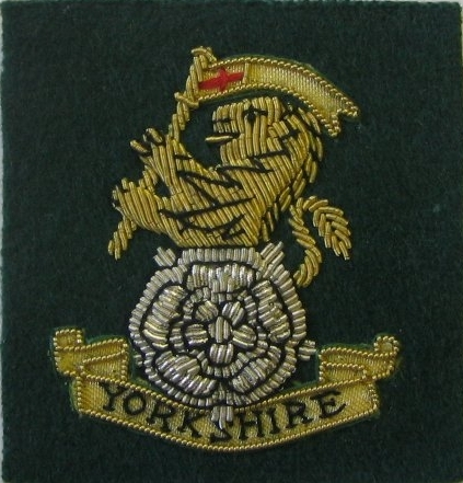 YORKS Officers Beret Badge