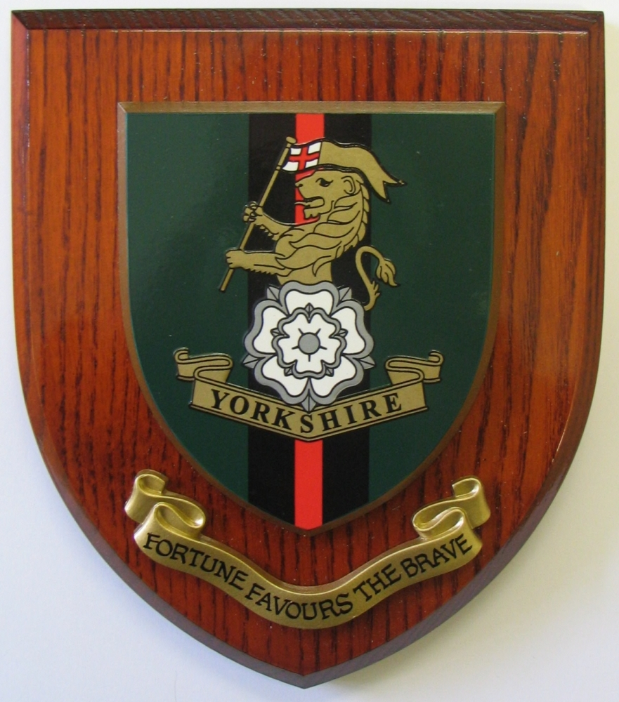 Regimental Plaque