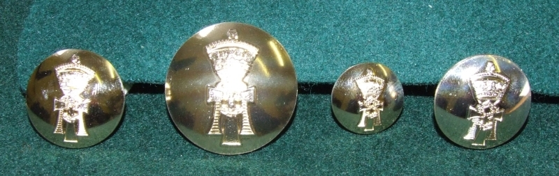 YORKS No1 Dress Uniform Buttons