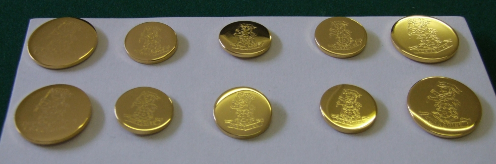 Regimental Blazer Buttons