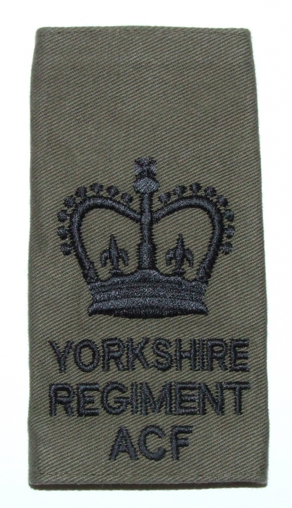 YORKS ACF WO2 Rank Slides