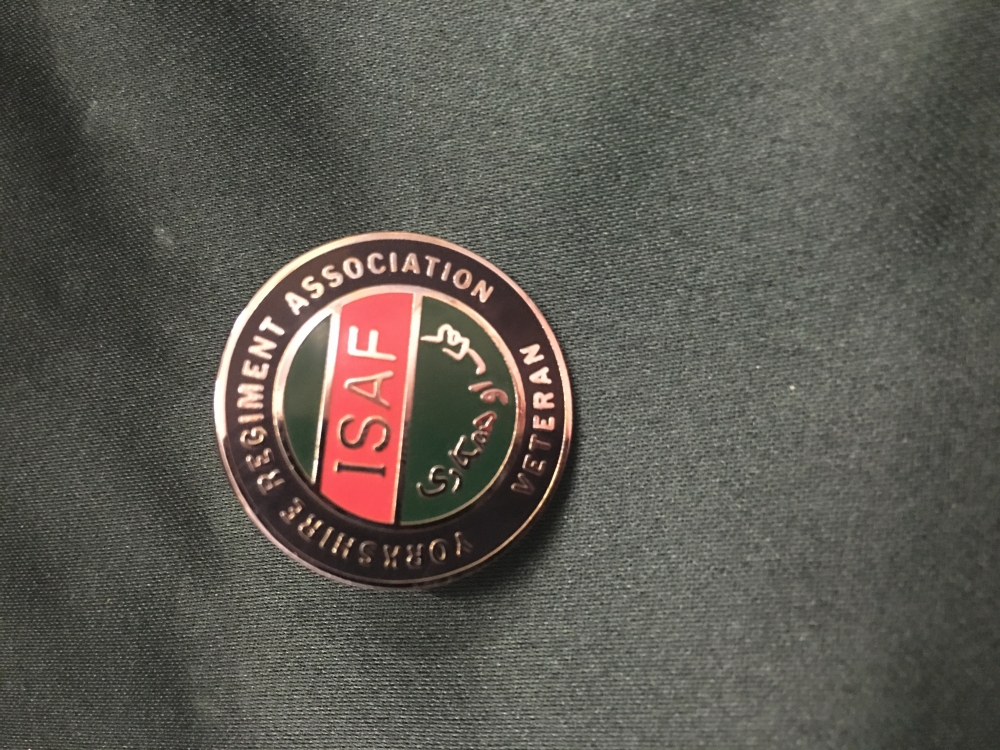 YRA ISAF Pin Badge
